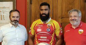 Colpaccio per la Paspa Pesaro Rugby in serie A: ecco il nazionale tongano Willis 'Uili' Koloofai
