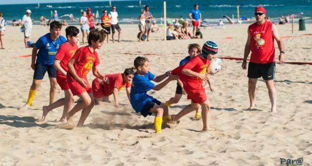 Per il 20° anno torna il Mini Beach rugby di Pesaro. 500 piccoli rugbisti pronti a invadere di gioia la spiaggia di baia Flaminia