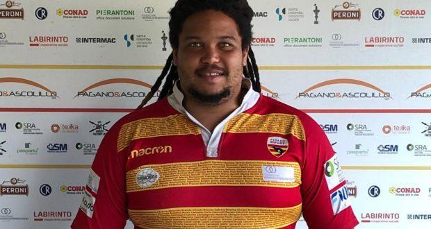 Marzuq Marmaan, un sudafricano per la prima linea della Pagano & Ascolillo Pesaro Rugby
